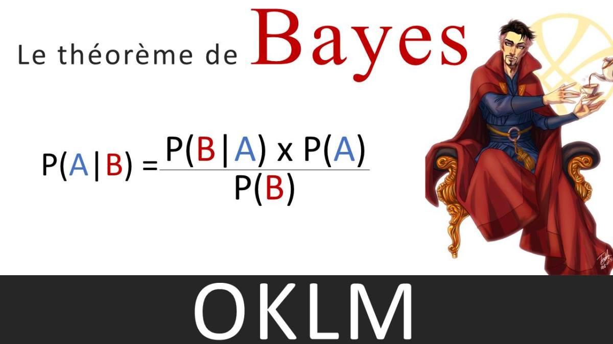 Le théorème de Bayes, aucalme